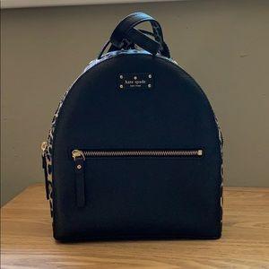 Kate Spade leopard Sammi backpack, new never used